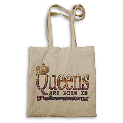 Königinnen Sind Im Februar Geboren Tragetasche s140r