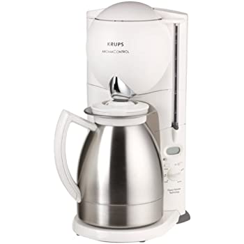 Cuisinart Coffee Maker Thermal Carafe Problems : Amazon.com: Krups 229-7A Aroma Control Coffeemaker with Thermal Carafe and Programmable Timer ...