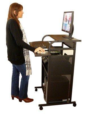 すべてメタルスタンドUpコンピュータカート24