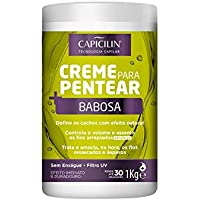 Capicilin - Linha Creme para Pentear - Babosa 1000 Gr - (Capicilin - Combing Cream Collection - Aloe Vera Net 35.27 Oz)