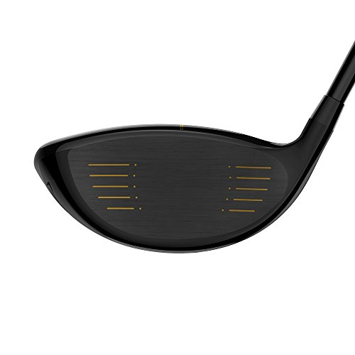 Cobra Men's 2018 F-Max Offset Driver Black-Gold, Left Hand, Graphite, 10.5, degrees, Regular