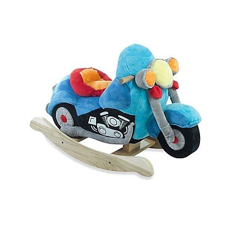 Furniture Rockabye Baby (Rockabye Musical Rocker (Lil' Biker Motorcycle))
