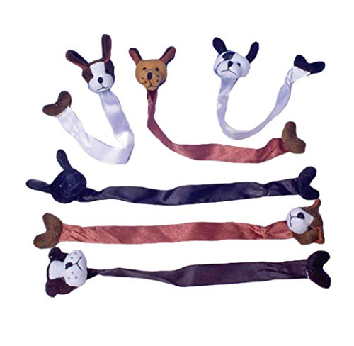 U.S. Toy Plush Dog Bookmarks (Party Favor Pack: 24 Count) -