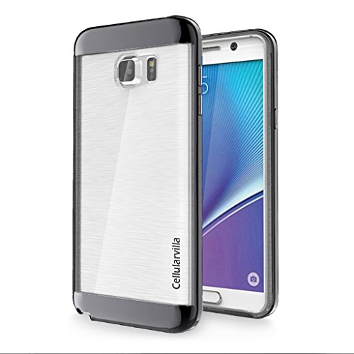 Cellularvilla Metallic Shockproof Brushed Transparent