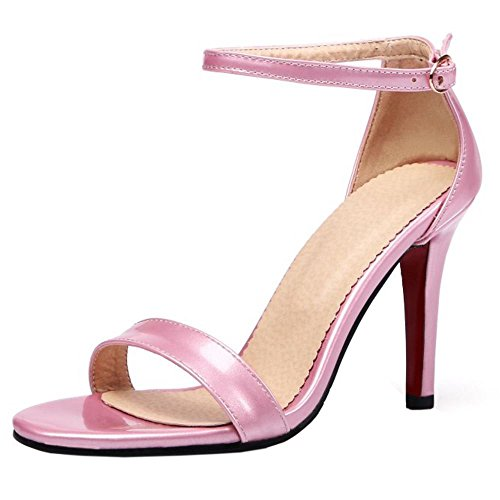 Mode Donna 1 Caviglia Alla Zanpa Strap Pink Sandali x857w7Tp