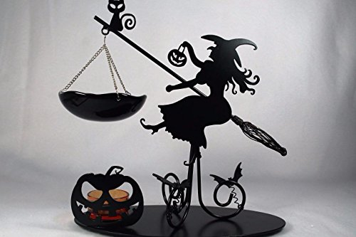 Halloween 2016 Flying Witch' Tart Burner Holder