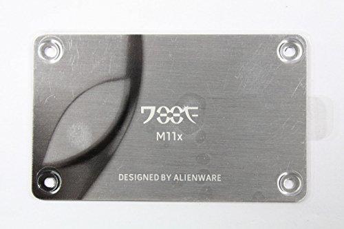 OEM Alienware M11X Laptop Plate Name Badge 85YK9