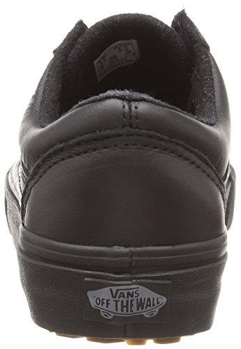 Vans Old Skool Mte, Zapatillas Unisex Adulto negro - Black (Mte - Black/Leather)