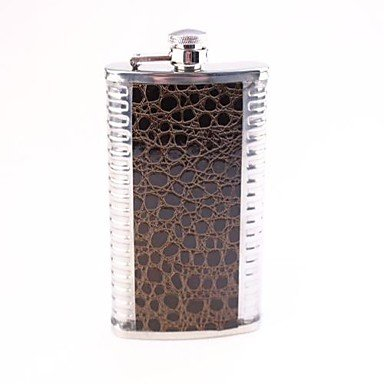 TY Serpentine Hip 7 Oz Stainless Steel Hip Flask Men with Military Users Is Hip Flask