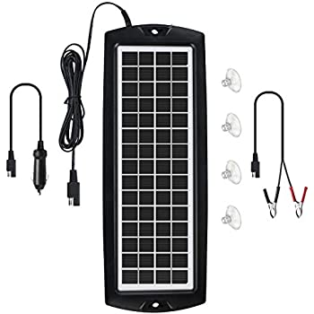 Amazon.com: Sunforce 50022 Cargador solar de batería ...