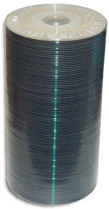 MBI White Thermal Hub 4X 1.4GB Mini DVD-R 100-Pak in Shrinkwrap