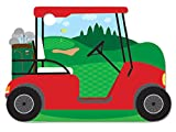 Golf Cart Theme Gift Cards (6 Pack ) 3-3/4x2-3/4''