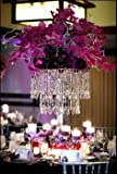 """We Can Package 11"""" Wedding Chandeliers Centerpieces Decorations Crystal Bling Diamond Cut for Event Party Decor"""