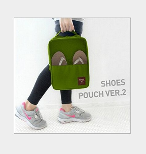 Travel shoe finishing package bag 3 shoes a