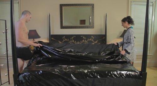 Nuru Mattress Protector Massage Sheets Waterproof Queen
