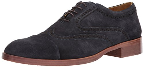 Donald J Pliner Men's ZINDEL2 Oxford Nacy Calf Suede for sale  Delivered anywhere in USA