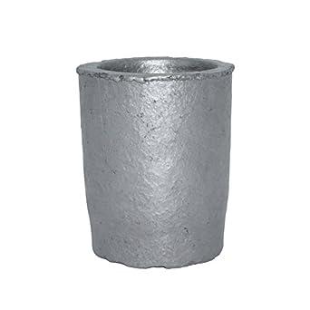 2 # regla Crisoles de carburo de silicio grafito. Taza horno de ...