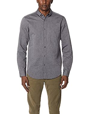 Men's Edward Linen Button Down Shirt