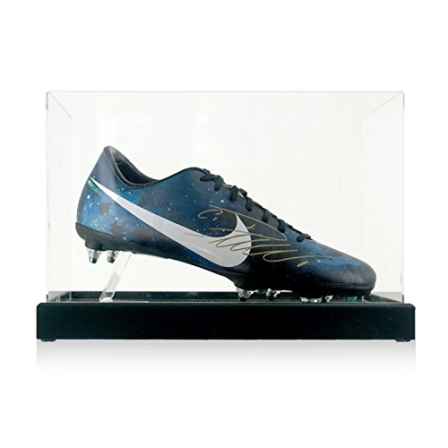 Cristiano Ronaldo Signed CR7 Soccer Shoe In Display Case | Autographed Cleat