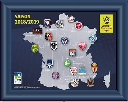LFP Collection de Pins: Emblèmes des équipes de la Ligue 1 (2018/2019): Amazon.fr: Sports et Loisirs