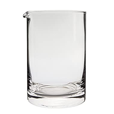 Behind The Bar Hand Blown Cocktail Mixing Glass - 600ml