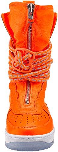 Nike Mænd Sf Af1 Hi Gymnastiksko, Sort Og Orange (total Orange / Total Orange / Hvid)