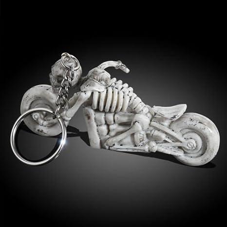 miniesting (TM) goma llavero, diseño de calaveras Moto Coche ...