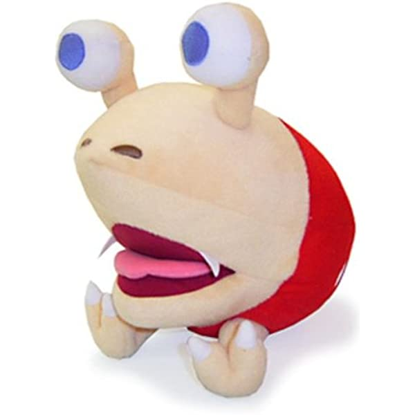 Amazon Com Sanei 10 5 Bulborb Chappy Pikmin Plush Doll Toys Games