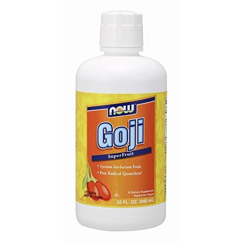 - NOW Supplements, Goji Liquid (Lycium barbarum), Super Fruit Concentrate, 32-Ounce