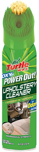 Turtle Wax 244R1 Power Out Carpet Cleaner Odor Eliminator – 18 oz -