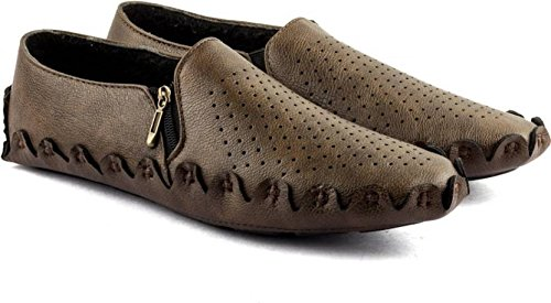 Buy Kwelin Casual Brown Loafers Shoes