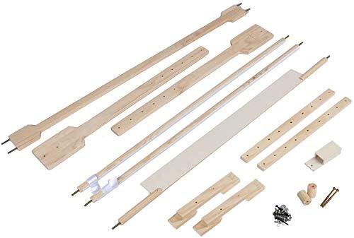 Ejoyous Verstellbarer Stickst/änder Stickrahmen Stickst/änder aus Kiefer und PVC Mit Stickrahmen f/ür Sticken und Nadelarbeiten L:110x46x80cm