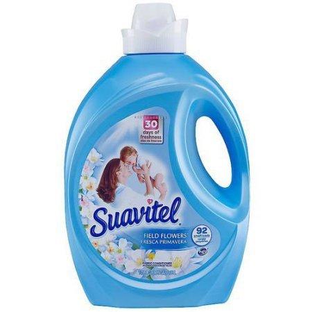 (Suavitel Field Flowers Liquid Fabric Conditioner, 135 fl oz l Give your Clothes a Fresh Scent (1))