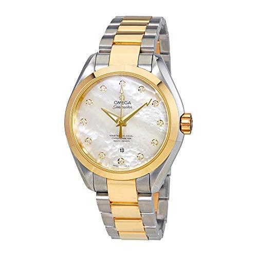 Omega Seamaster Aqua Terra Mother of Pearl Dial Ladies Watch 23120342055002