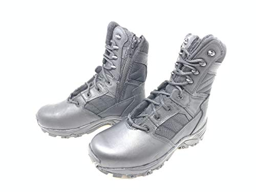 Corcoran Mens 8' Black Tactical Boots with Side Zipper