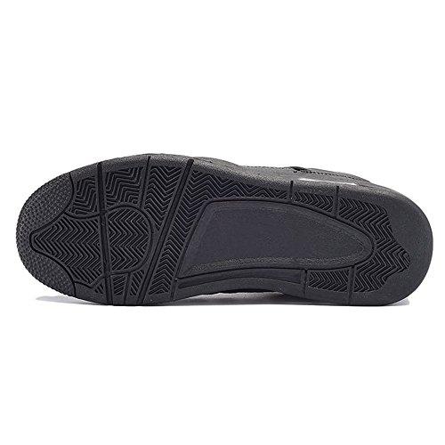 da Unita Cricket Il e Uomo Pizzo di per Sneaker in Donna Tempo Black per Unita Libero Scarpe Moda Tinta Tinta xTw05qCUp