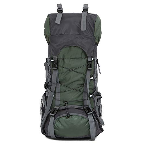 MatSailer 55L Outdoor Internal Frame Backpack, Water Resistant Travel Hiking Rucksack, Durable Mountaineering Backpack for Camping Walking Cycling Sports #3542