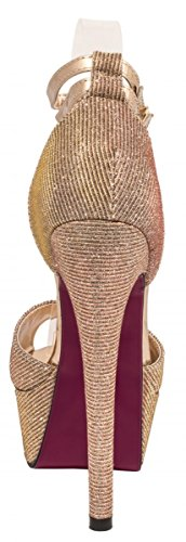 Elara - Plataforma Mujer champán
