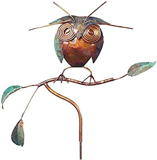 product image for American Made Copper Owl Garden Sculpture/Stake