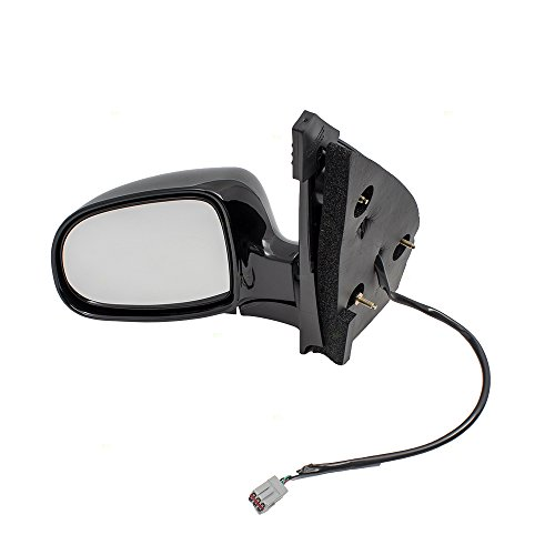 Drivers Power Side View Mirror Heated Replacement for 99-00 Ford Windstar Van YF2Z17683EA XF2Z17683EAA AutoAndArt ()