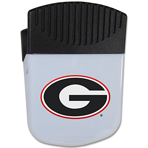 NCAA Georgia Bulldogs Chip Clip Magnet, White (Chip Georgia)