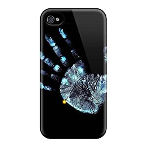 Rugged Skin Cases Covers For Iphone 6- Eco-friendly Packaging(palm Print)