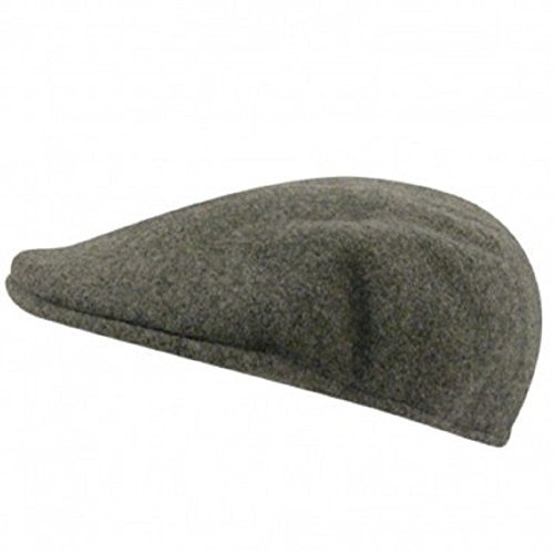 (Kangol Men's Wool 504 Cap (X-Large -7 1/2-7 5/8, Flannel))