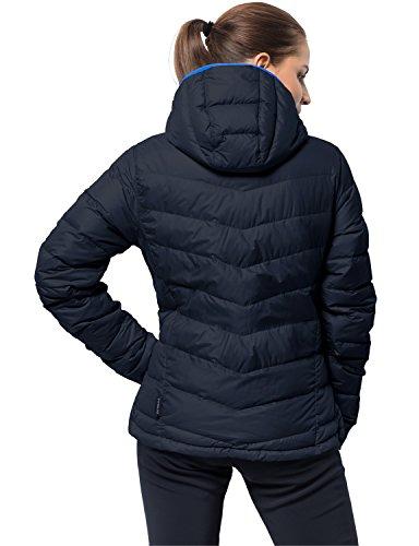 Womens Women Wolfskin Jack Jacket Down blue Helium Windproof Waterproof midnight xdE0rw0q6