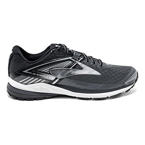 Brooks Men's Ravenna 8 Anthracite/Silver/Black 14 D US