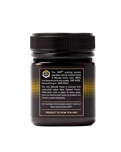 Manukora UMF 20+/MGO 830+ Raw Mānuka Honey (250g/8.8oz) Authentic Non-GMO New Zealand Honey, UMF & MGO Certified, Traceable from Hive to Hand by Manukora (Image #3)