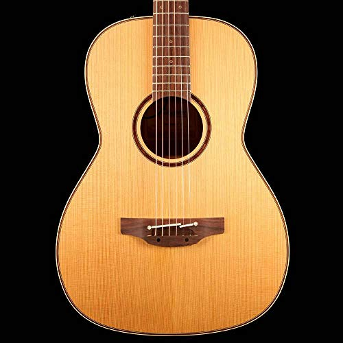 - Takamine CP400NYK New Yorker 6 Strings Acoustic Guitar with Solid Cedar Top and Hawaiian Koa Back and Sides - Satin Natural
