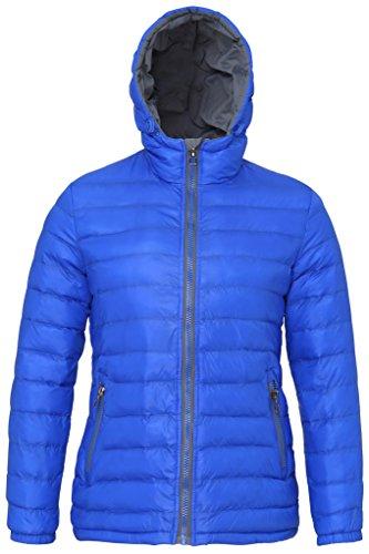 MAKZ Damen Mantel Gr. X-Large, Rot/Marineblau