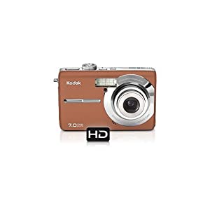 Kodak Easyshare M753 7 MP Digital Camera with 3xOptical Zoom (Copper)