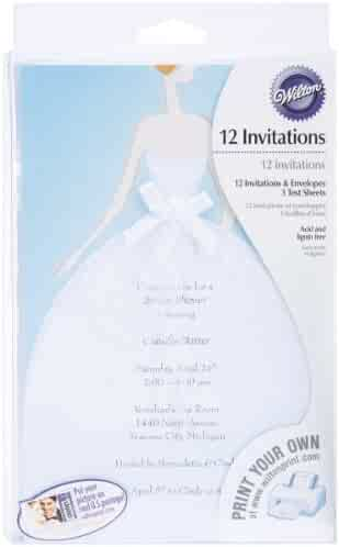 Wilton Bride Invitation Kit